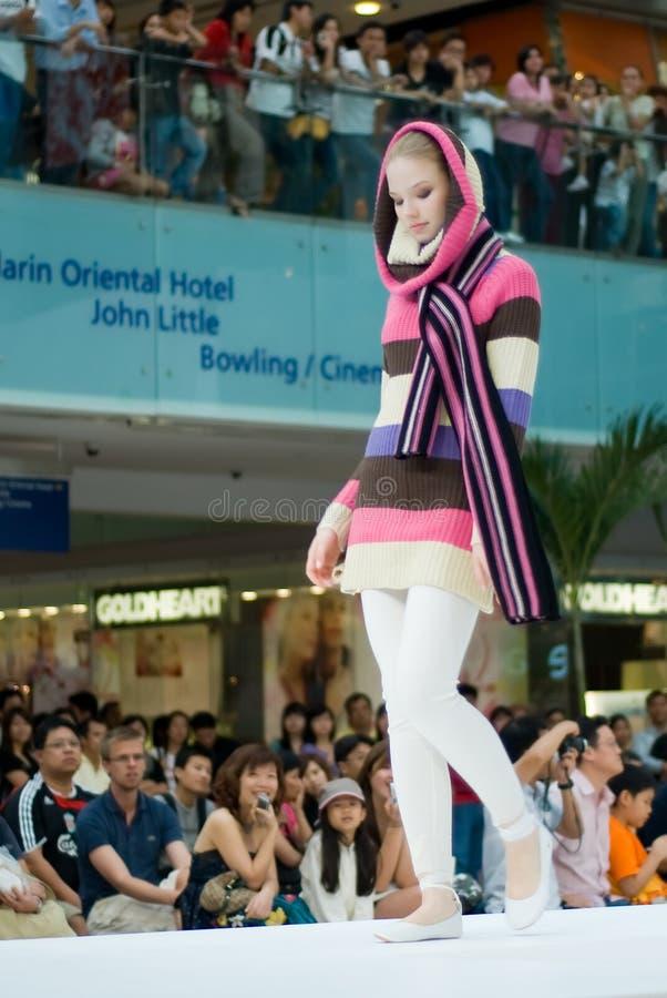 Festival 2008 da forma de Singapore foto de stock