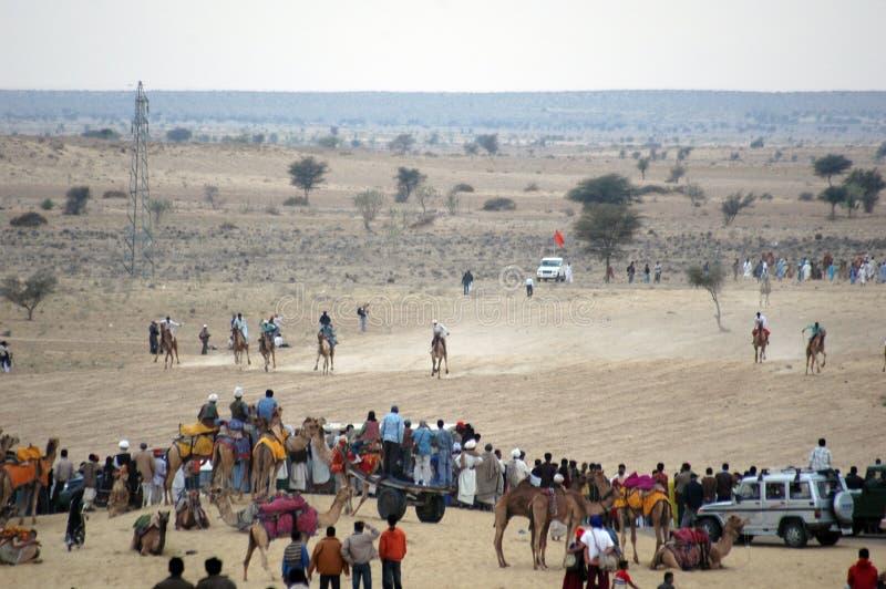 Festival 2009 do deserto, Jaisalmer, Rajasthan. foto de stock