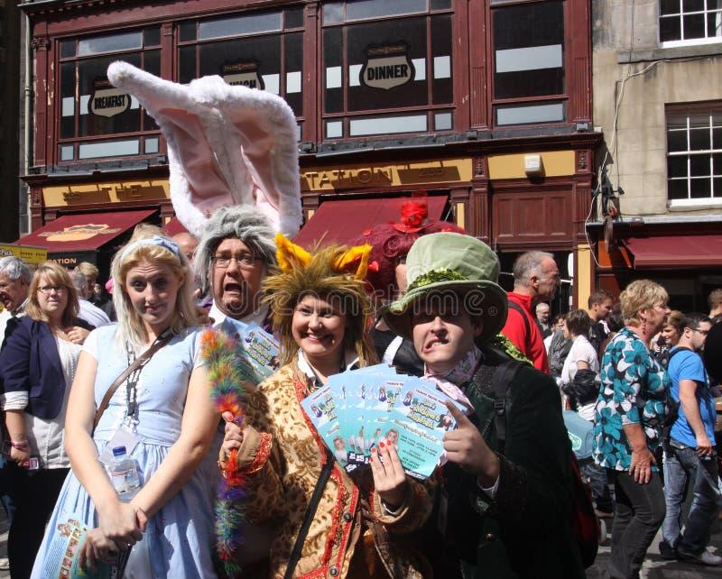 Festival 2011 de la franja de Edimburgo imagen de archivo