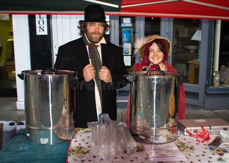 Festival 2011 de Ulverston Dickensian fotos de archivo