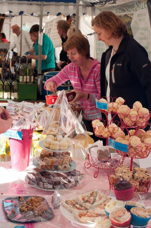 Festival 2011 del alimento de Ludlow foto de archivo