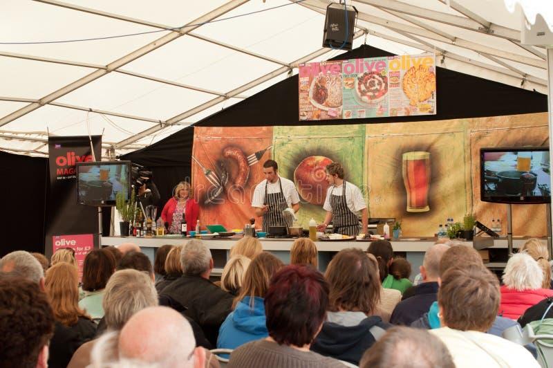 Festival 2011 del alimento de Ludlow foto de archivo libre de regalías