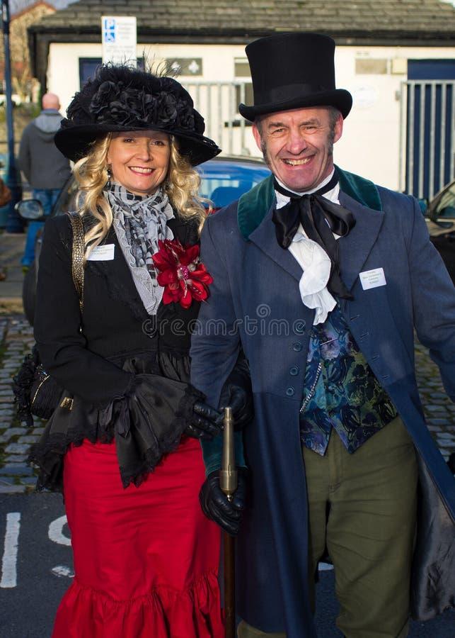 Festival 2011 di Ulverston Dickensian fotografie stock libere da diritti