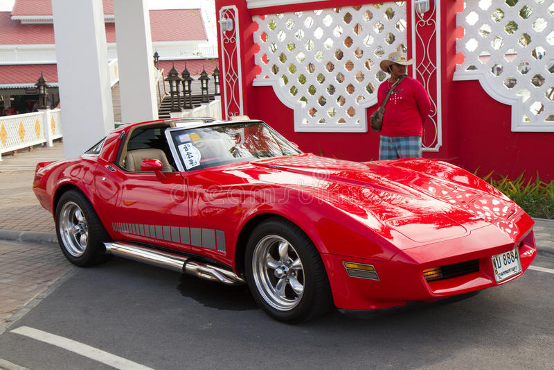 Festival 2011 van de Parade van de Auto's van Hin van Hua het Uitstekende royalty-vrije stock foto