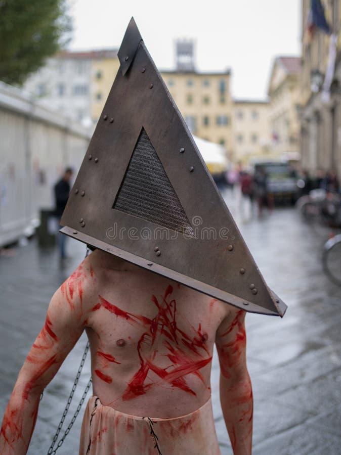 Festival 2012, Toscana, Italia dei fumetti di Lucca immagine stock