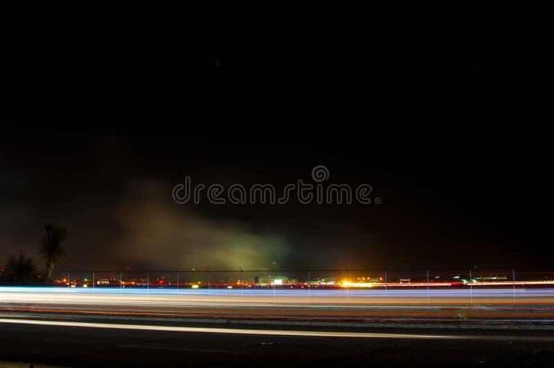Festival aéreo da noite foto de stock