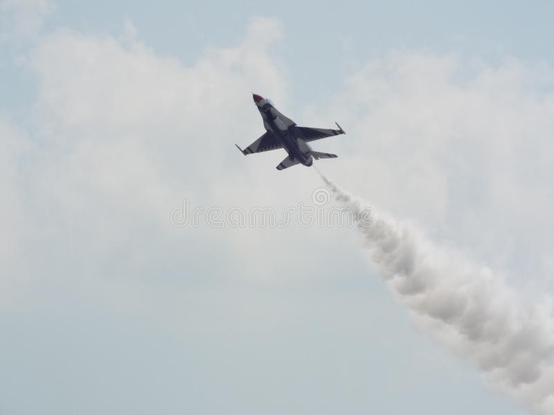 Festival aéreo de Atlantic City imagem de stock royalty free