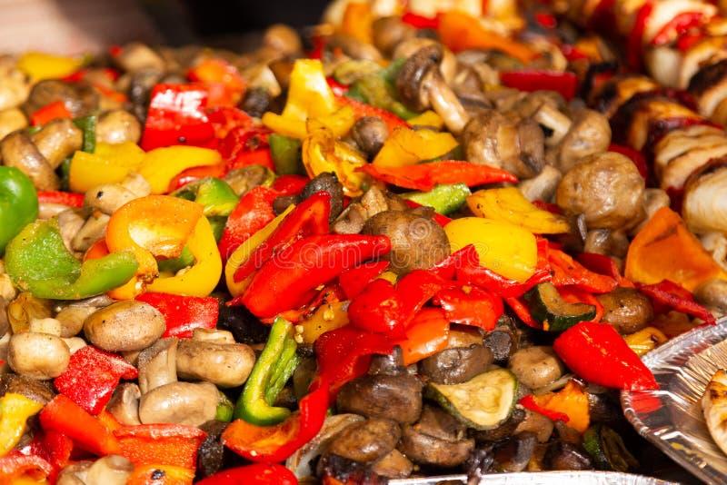 Festival Alba Iulia dell'alimento della via fotografie stock libere da diritti