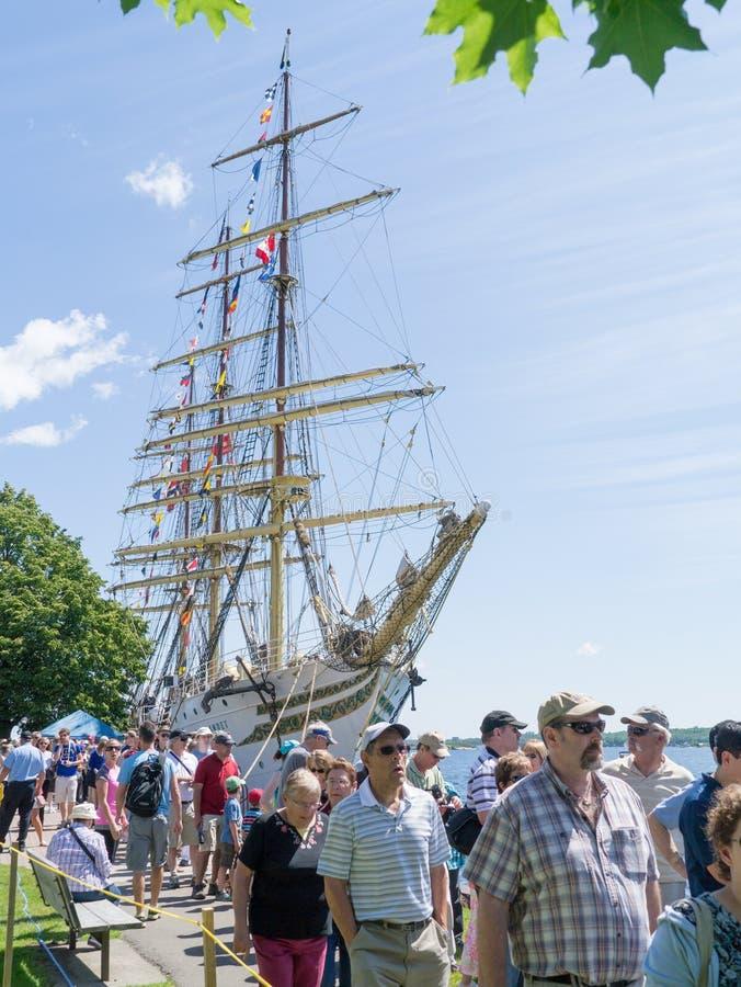 Festival alto 2 delle navi di Brockville fotografia stock libera da diritti