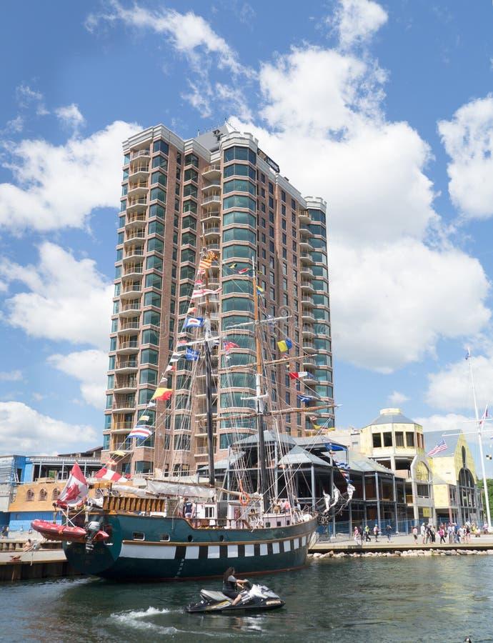 Festival alto 5 delle navi di Brockville fotografie stock libere da diritti
