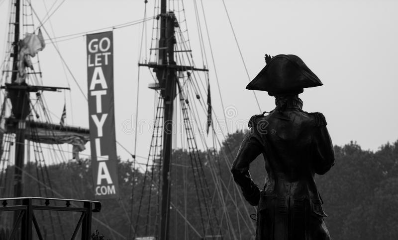 Festival alto 2014 do navio de Greenwich fotografia de stock