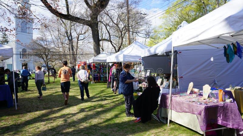 Festival annuel de cornouiller à Fairfield, le Connecticut photos libres de droits