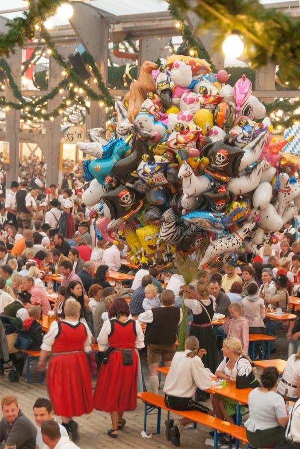 Festival anual da queda (Herbstfest) em Rosenheim, Alemanha fotografia de stock royalty free