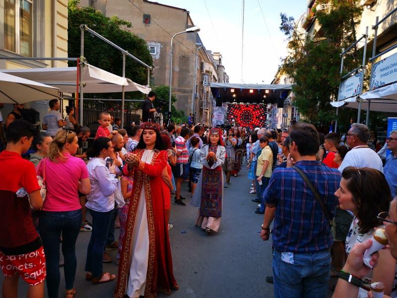 Festival armênio 2019 da rua em Bucareste imagem de stock