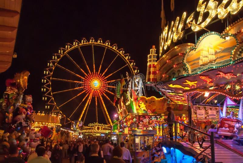 Festival bávaro de la caída fotos de archivo