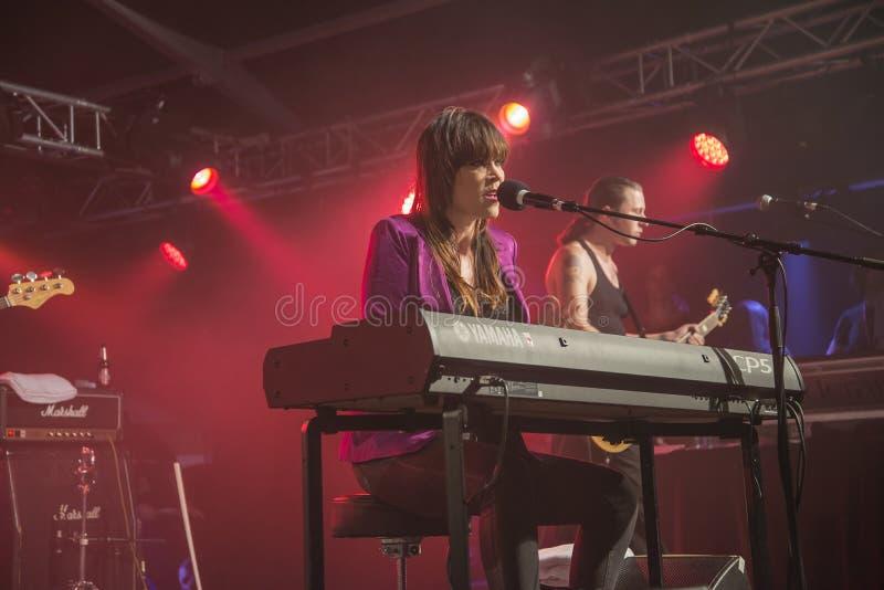 Festival 2013, bande de cerf de beth, Etats-Unis de bleus de Notodden photos stock