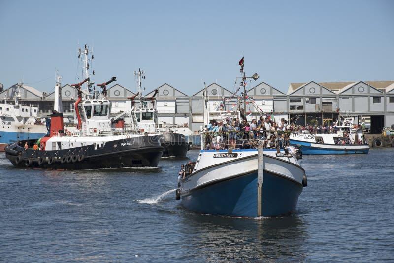 Festival Cape Town S África de la bendición de la flota pesquera fotos de archivo libres de regalías