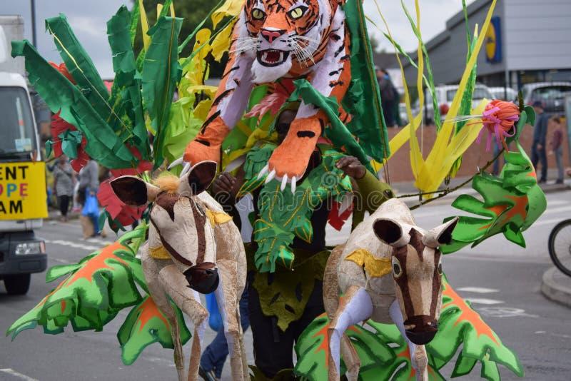 Festival caraibico fotografia stock