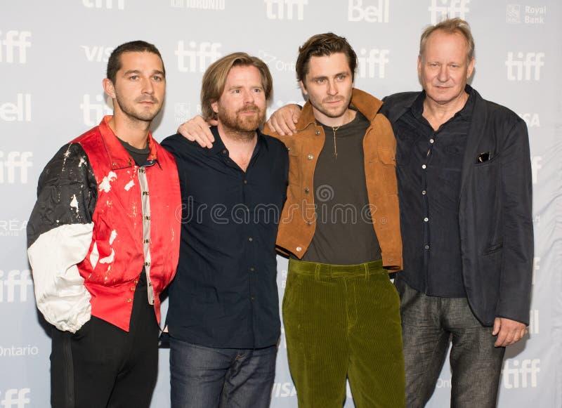 2017 festival cinematografico internazionale di Toronto - prima del ` del ` Borg/McEnroe - tappeto rosso immagini stock