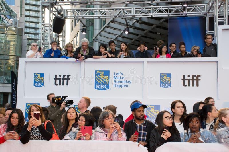 2017 festival cinematografico internazionale di Toronto - prima del ` del ` Borg/McEnroe - tappeto rosso fotografia stock libera da diritti