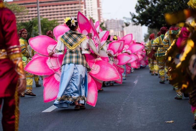 Festival 2017, ciudad de Pasay, Filipinas de Aliwan fotos de archivo