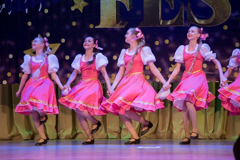 Festival-competencia internacional del arte coreográfico imagen de archivo libre de regalías