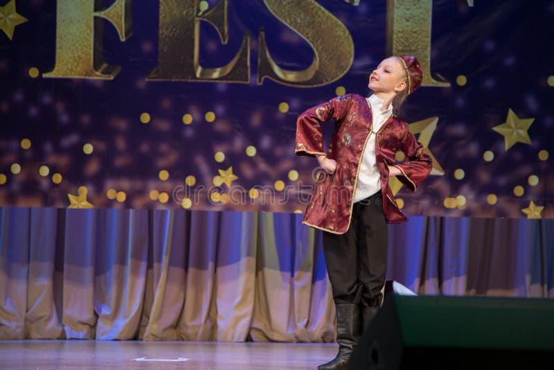 Festival-competencia internacional del arte coreográfico fotos de archivo