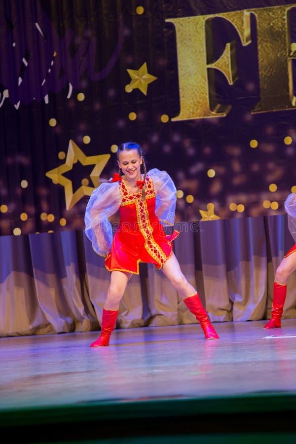 Festival-competencia internacional del arte coreográfico foto de archivo libre de regalías