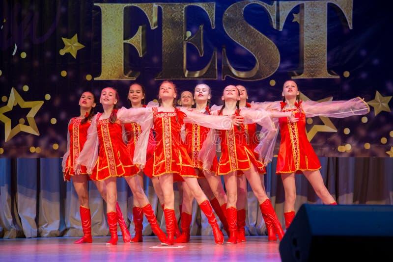 Festival-competencia internacional del arte coreográfico fotografía de archivo libre de regalías
