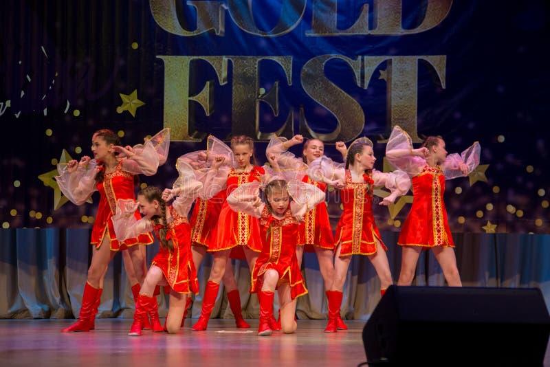 Festival-competencia internacional del arte coreográfico foto de archivo