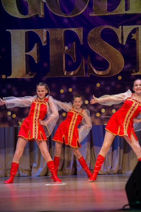 Festival-competencia internacional del arte coreográfico imagenes de archivo