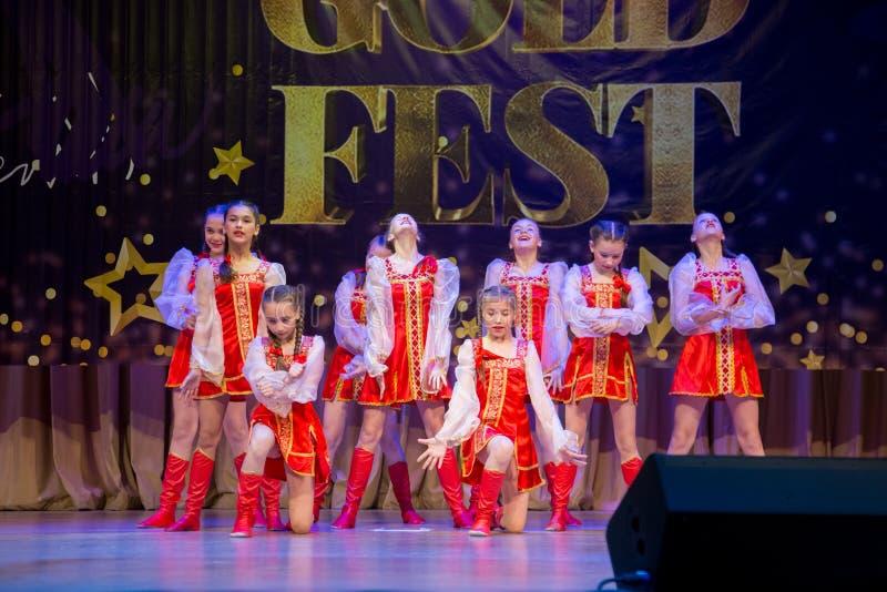 Festival-competencia internacional del arte coreográfico imagen de archivo