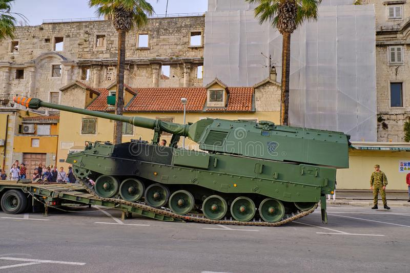 Festival croata del ejército imagenes de archivo