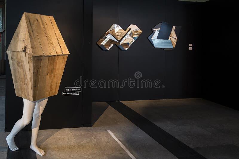 Festival cromatico della casa mobile immagini stock libere da diritti