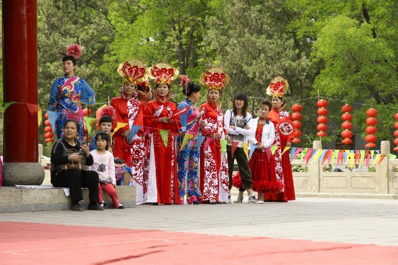 Festival cultural do parque fotografia de stock