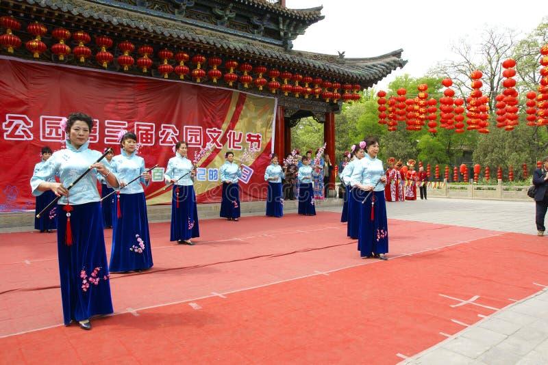 Festival cultural do parque imagens de stock