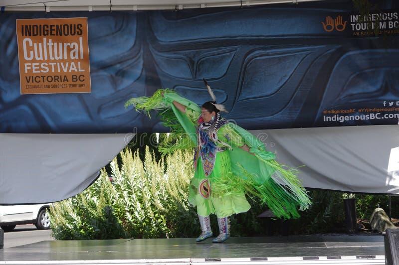 Festival cultural indígena fotos de archivo