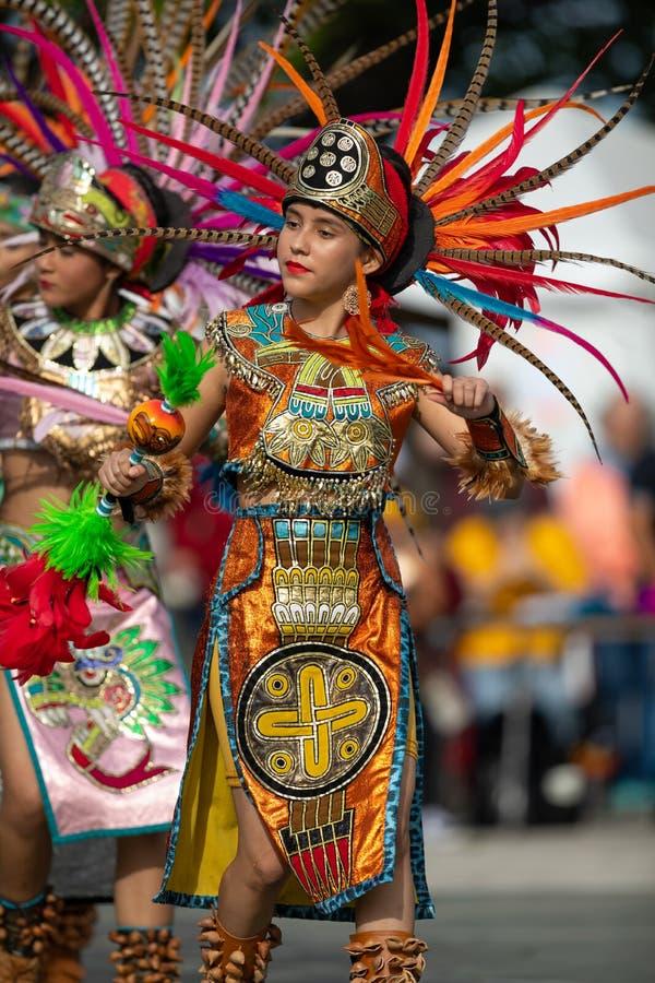 Festival d'été indien de la Saint-Martin images libres de droits