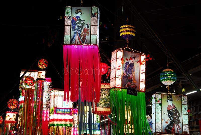 Festival d'étoile de Tanabata photographie stock