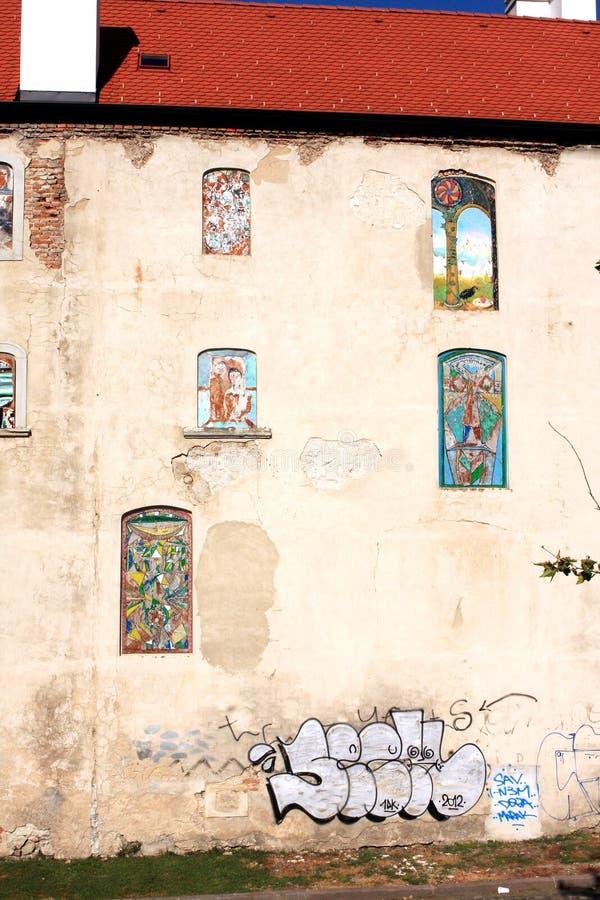 Festival d'art de rue de Bratislava images libres de droits