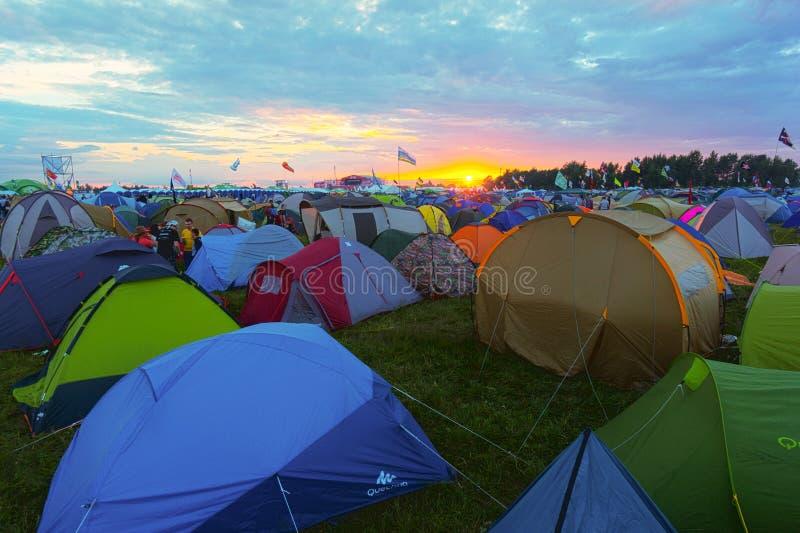 Festival da rocha fotos de stock