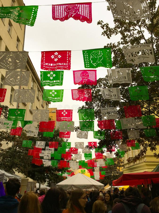 Festival da rua de Praga foto de stock royalty free