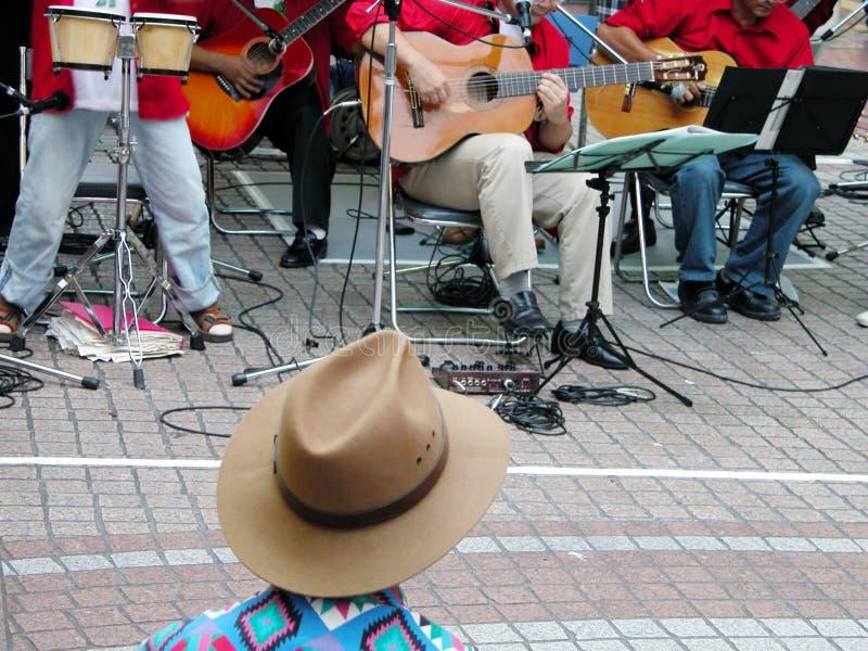 Festival da rua do jazz fotografia de stock