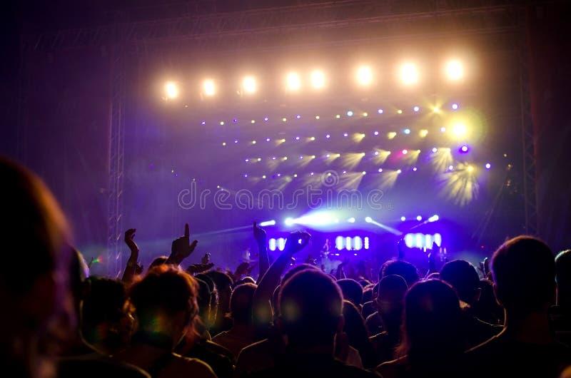 Festival da saída - estágio principal imagem de stock royalty free