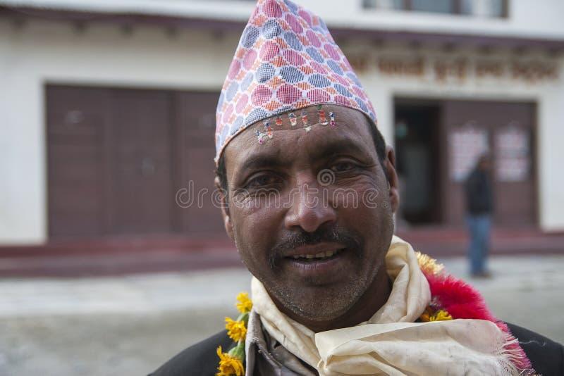 Festival dans le village de Marpha images stock