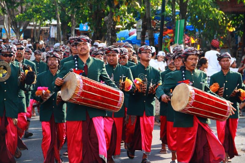 Festival de arte de la porción de Tanah imagen de archivo libre de regalías