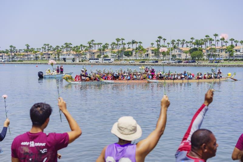 Festival de barco de dragón imagen de archivo