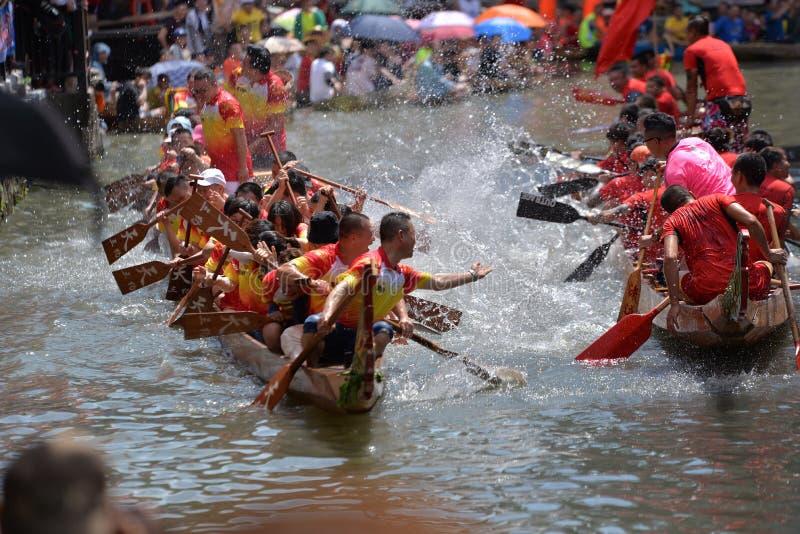 Festival de barco de drag?o imagens de stock