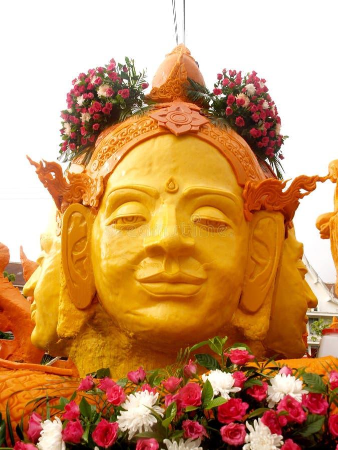 Festival de bougie d'Ubon Ratchathani photos libres de droits