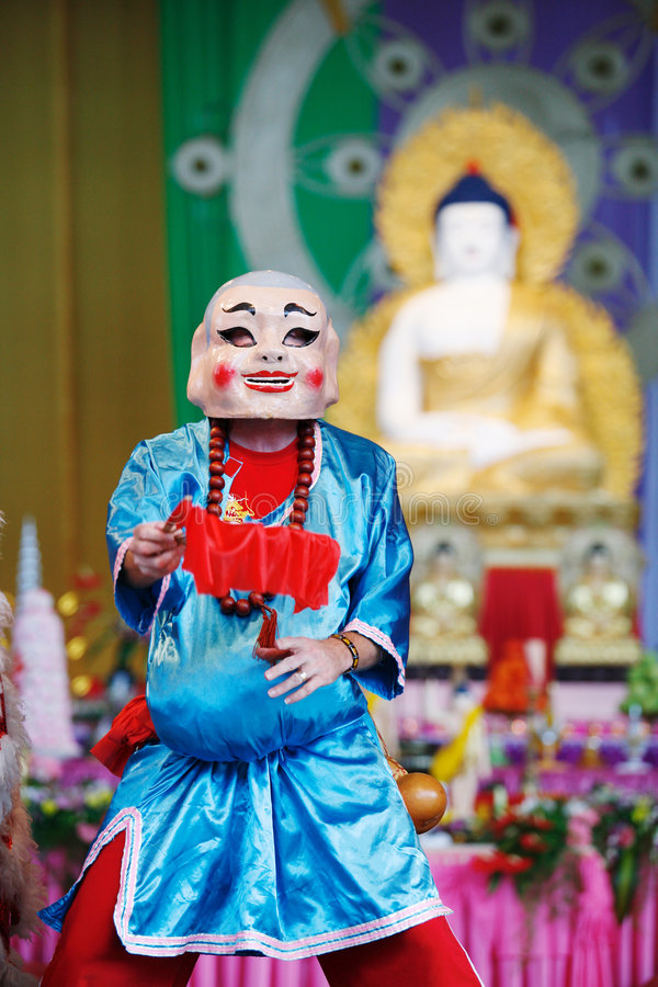 Festival de Buddha imagen de archivo libre de regalías